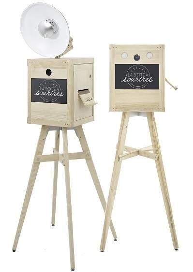 la boîte à sourires photobooth